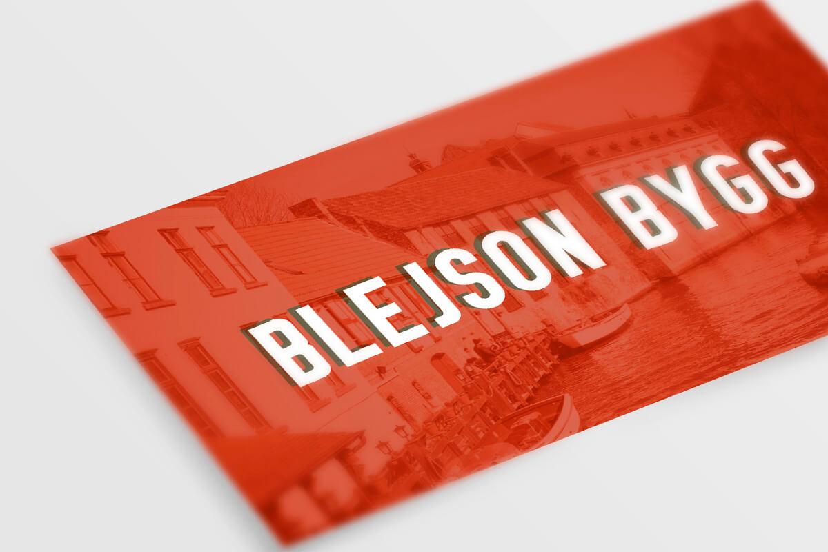 Blejson Bygg