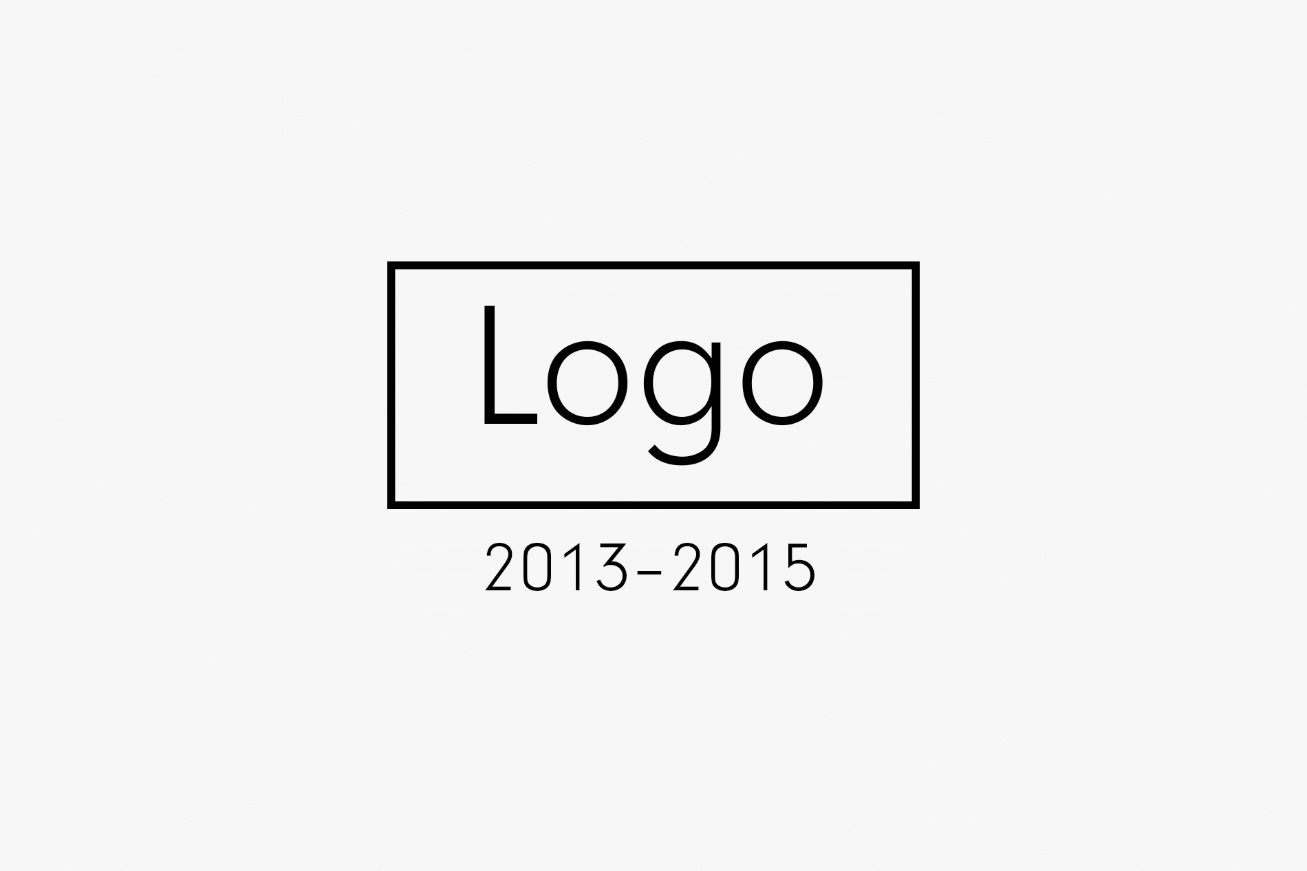 Logo 2013 — 2015
